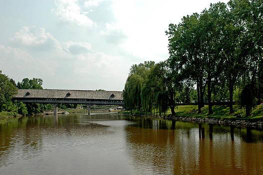 LeeAnn McLaneGoetz McLaneGoetzStudioLLCcom - Covered Bridge in Sight