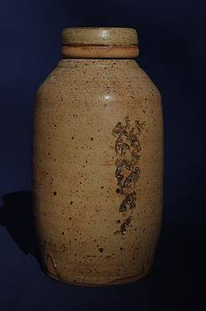 covered Jar  by Rick Ahlvers