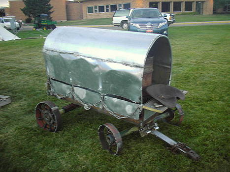Covered Wagon by Hunter Quarterman
