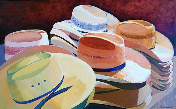 Cowboy Hats by Barry Shereshevsky