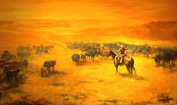 Cowboys by William Martin