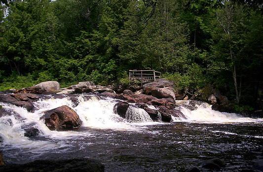 Crashing Waterfall by Emily Lambert