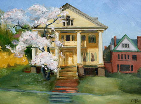 Crawford House in Spring by William Noonan