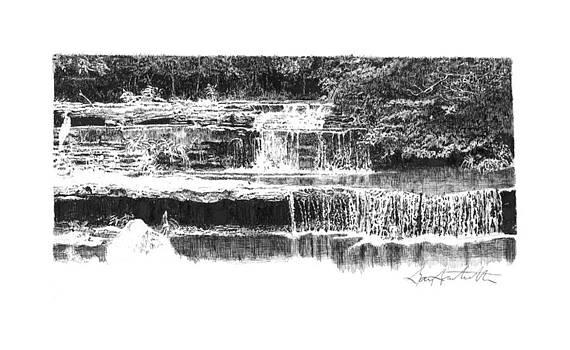 Creek in Missouri by Gary Gackstatter
