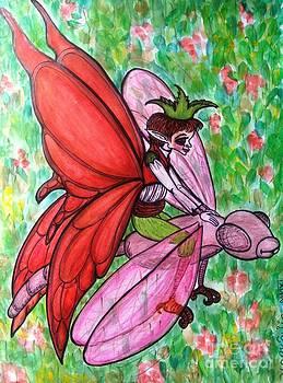 Crimson Wings by Koral Garcia