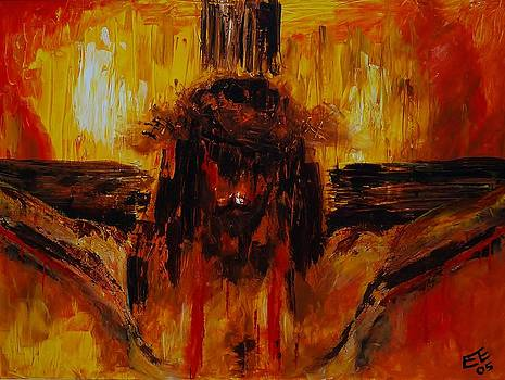 Cristo Crucificado by Pete Lopez