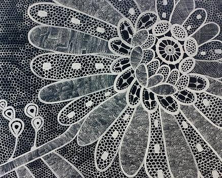 Crochet Flower by Salwa  Najm
