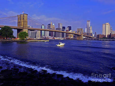 Crossing The Hudson by Kendall Eutemey