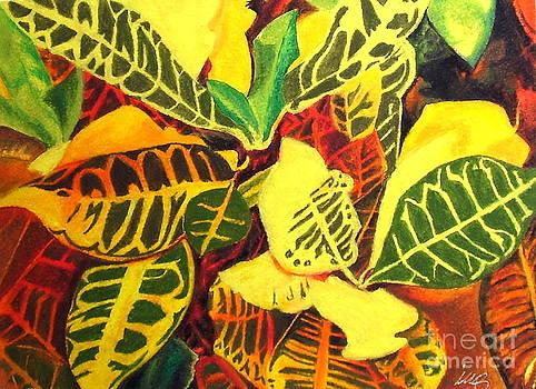 Croton Joy by Iris M Gross