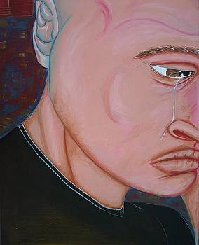 Crying Man by Jose A Gonzalez