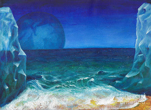 Crystal Beach by Michelle Cavanaugh-Wilson