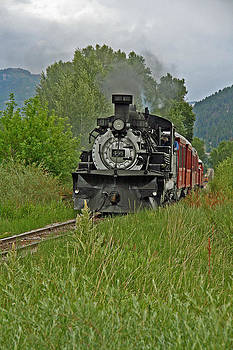 Elizabeth Rose - Cumbres and Toltec Steam Engine from Chama New Mexico