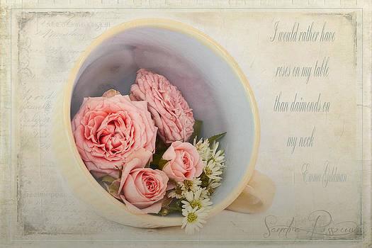 Cup of Diamonds  by Sandra Rossouw