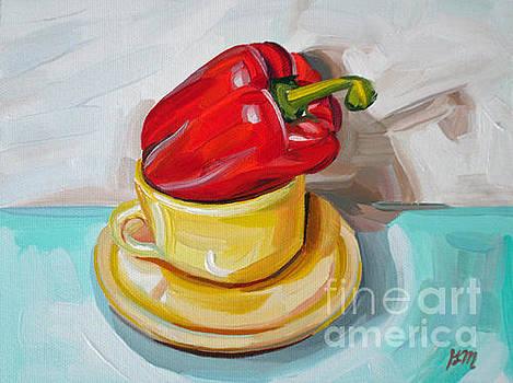Cup of Pepper by Gretchen Matta
