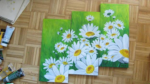 Daisies  by Ema Dolinar Lovsin