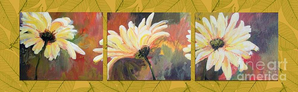 Daisies Three by Susan Fisher