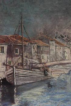 Dalmatian Cargo Ship by Mladen Kandic