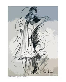 Dance with a veil by Reza Sepahdari