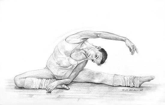 Phyllis Tarlow - Dancer Stretching