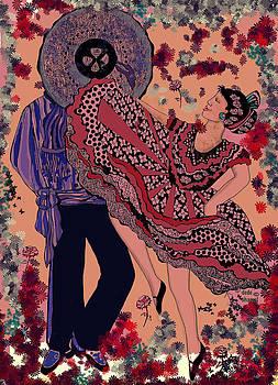 Dancers One by Dede Shamel Davalos