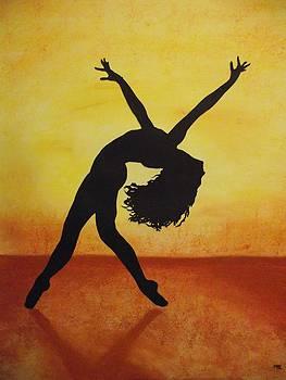 Dancing at Sunset by Maya Lewis