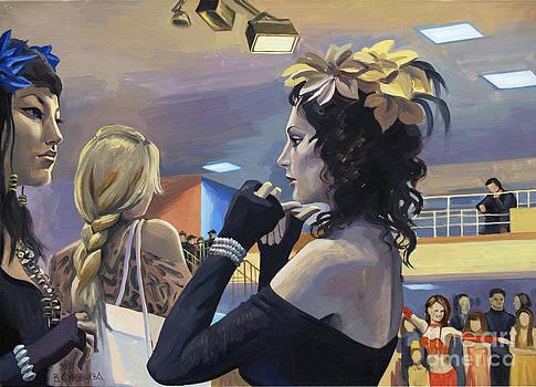Dancing contest by Veronika Surovtseva