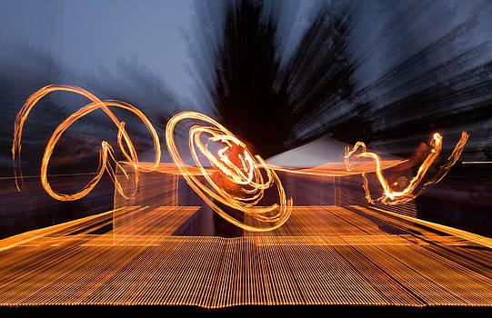 Dancing Fire by Marie-Dominique Verdier
