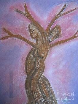 Dancing trees by Safa Al-Rubaye