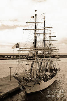 Gaspar Avila - Danish training ship