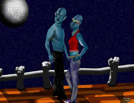 Date Night on Planet x by Diane Haas