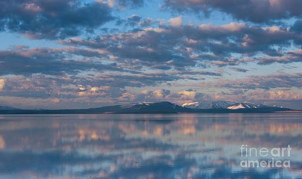 Sandra Bronstein - Dawn on Yellowstone Lake