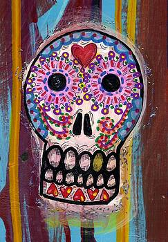 Day of the Dead Skull by Nancy Mitchell
