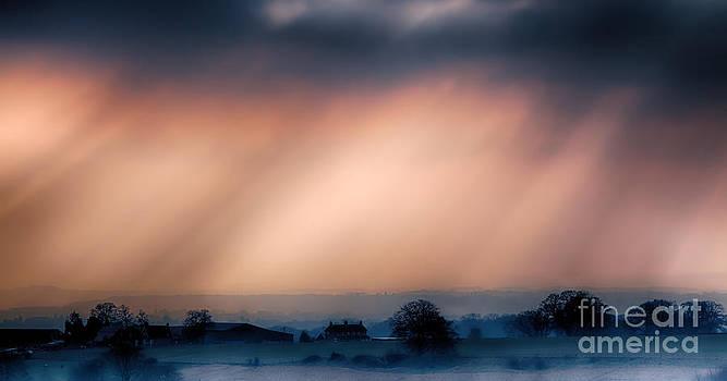 Simon Bratt Photography LRPS - Daybreak over farm landscape