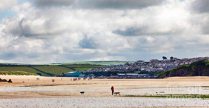 Simon Bratt Photography LRPS - Daymer bay beach landscape in Cornwall UK