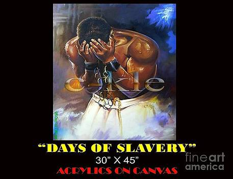 Days Of Slavery by Clement Martey
