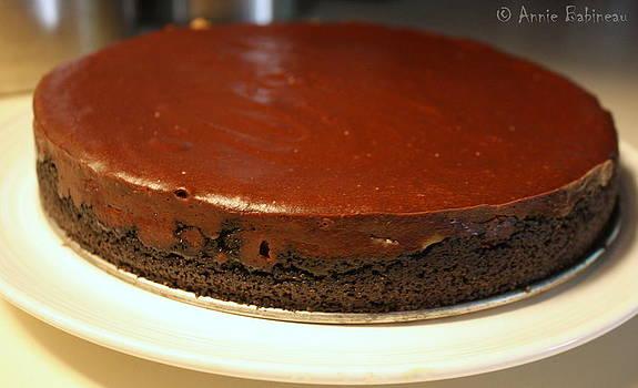 Anne Babineau - decadent chocolate cheesecake