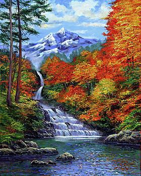 David Lloyd Glover - Deep Falls in Autumn