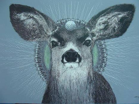 Deer by Supot Pimpan