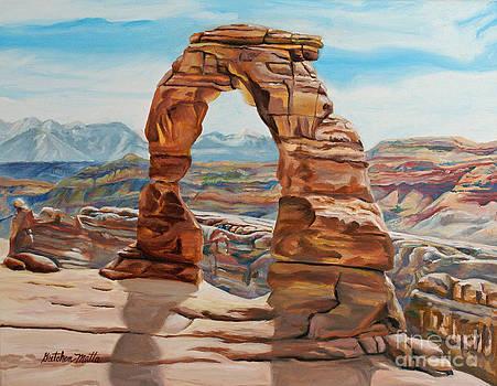 Delicate Arch by Gretchen Matta