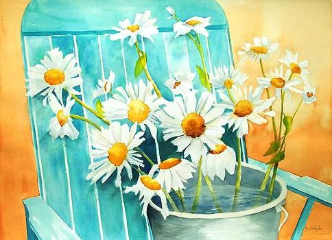 Delightful Daisies by Maryann Schigur