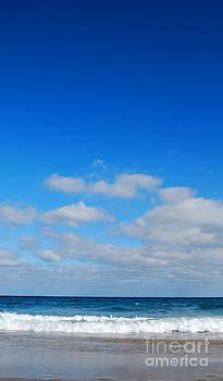 Delray sea and sky by Linda Mesibov