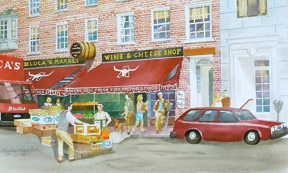 DeLucas Market  Boston by Harding Bush