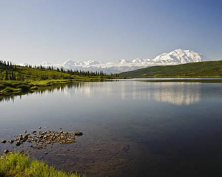 Denali on Wonder Lake by Jen Morrison