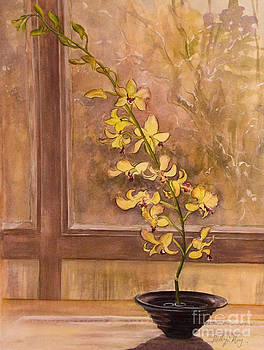 Dendrobium Orchid by Kathy Harker-Fiander