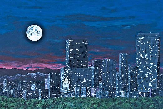 Denver Moon by Marla Saville