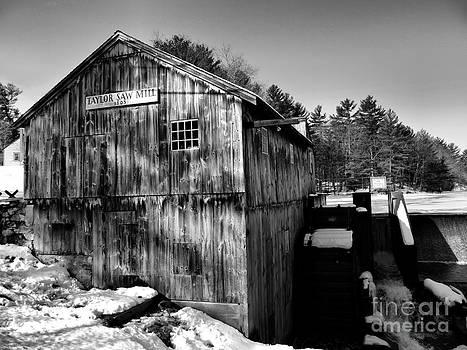 Derry Mill Barn by Nancie DeMellia