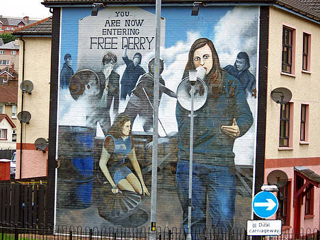 Derry Mural 2 by Maggie Cruser