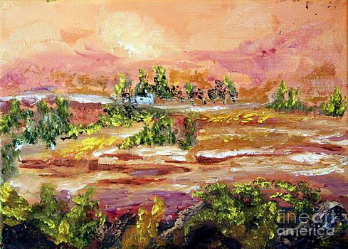 Desert Scene by Ellen Young