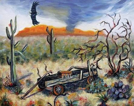 Suzanne  Marie Leclair - Desert Wagon