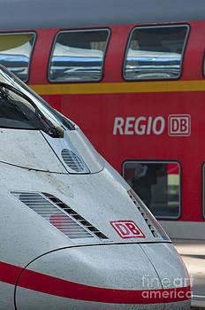 Deutche Bahn trains by Andrew  Michael